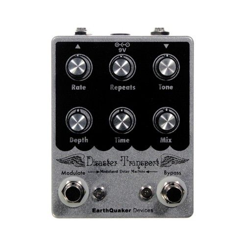 earthquaker devices disaster transport delay effect guitar effects pedal pedals guitar. Black Bedroom Furniture Sets. Home Design Ideas