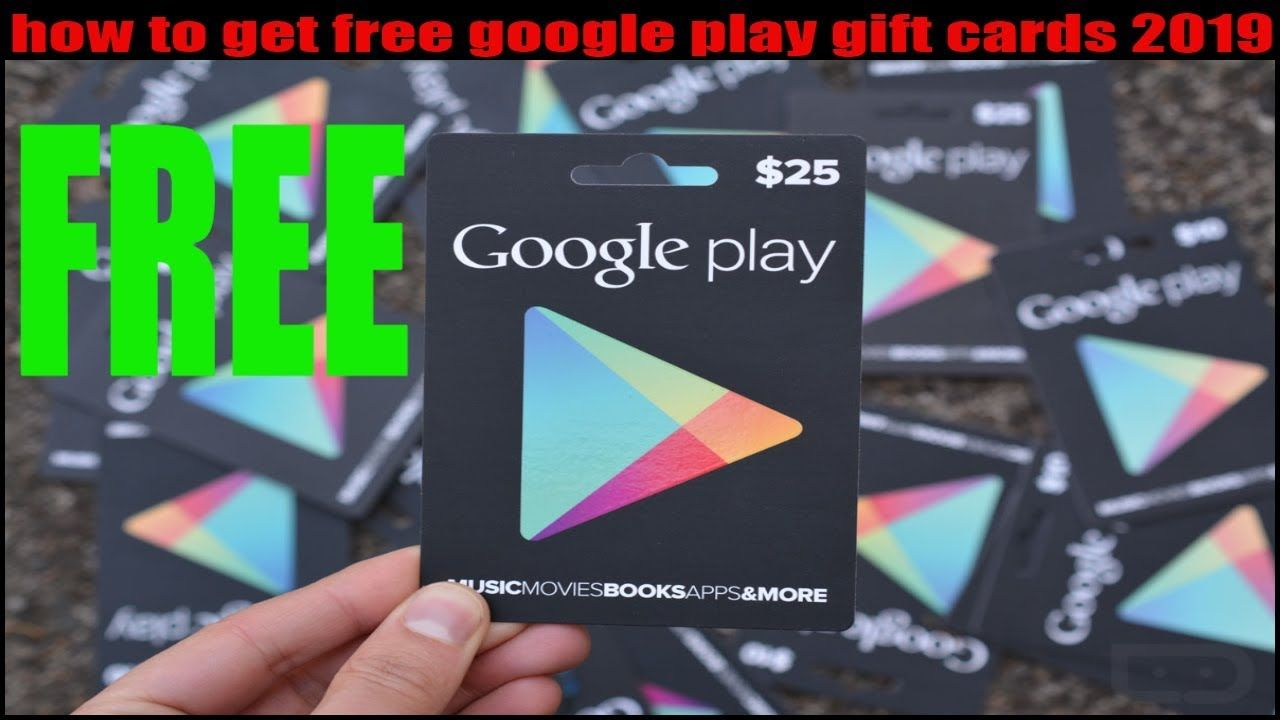 how to get free google play gift cards 2019 #googleplaygiftcard