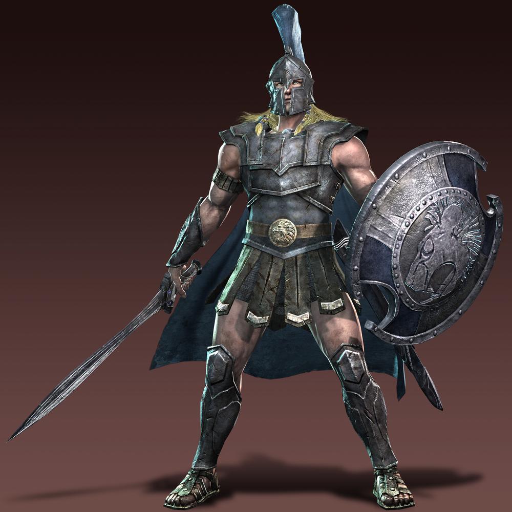 Warriors Legends Of Troy Part 1: Fantasy Warrior, Greek Warrior