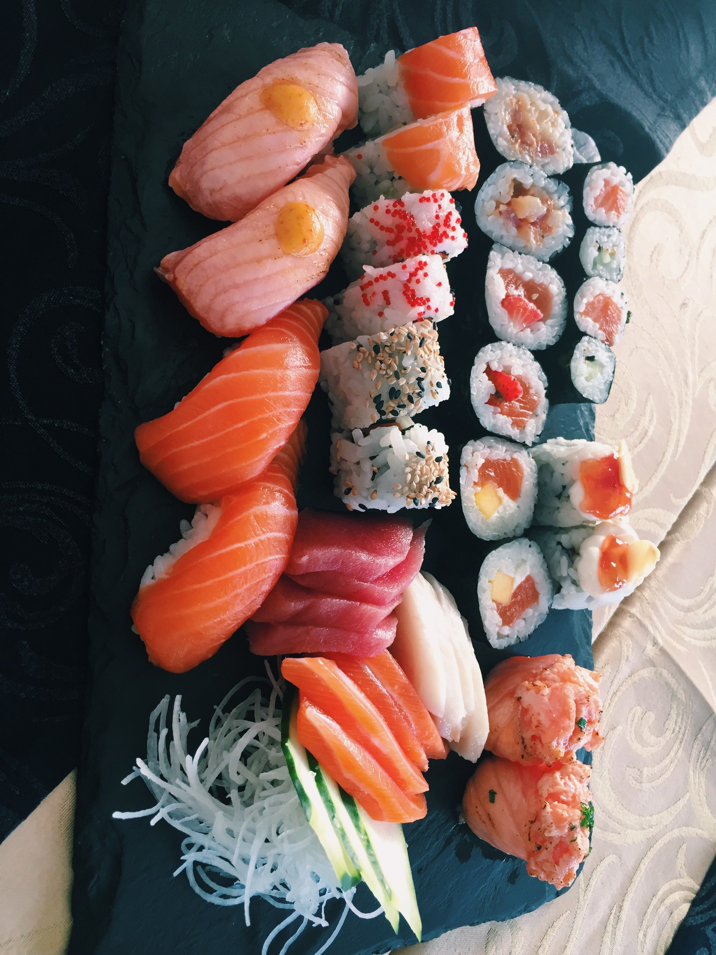 Sushi Sushi Time Sushi Donuts Food And Drink