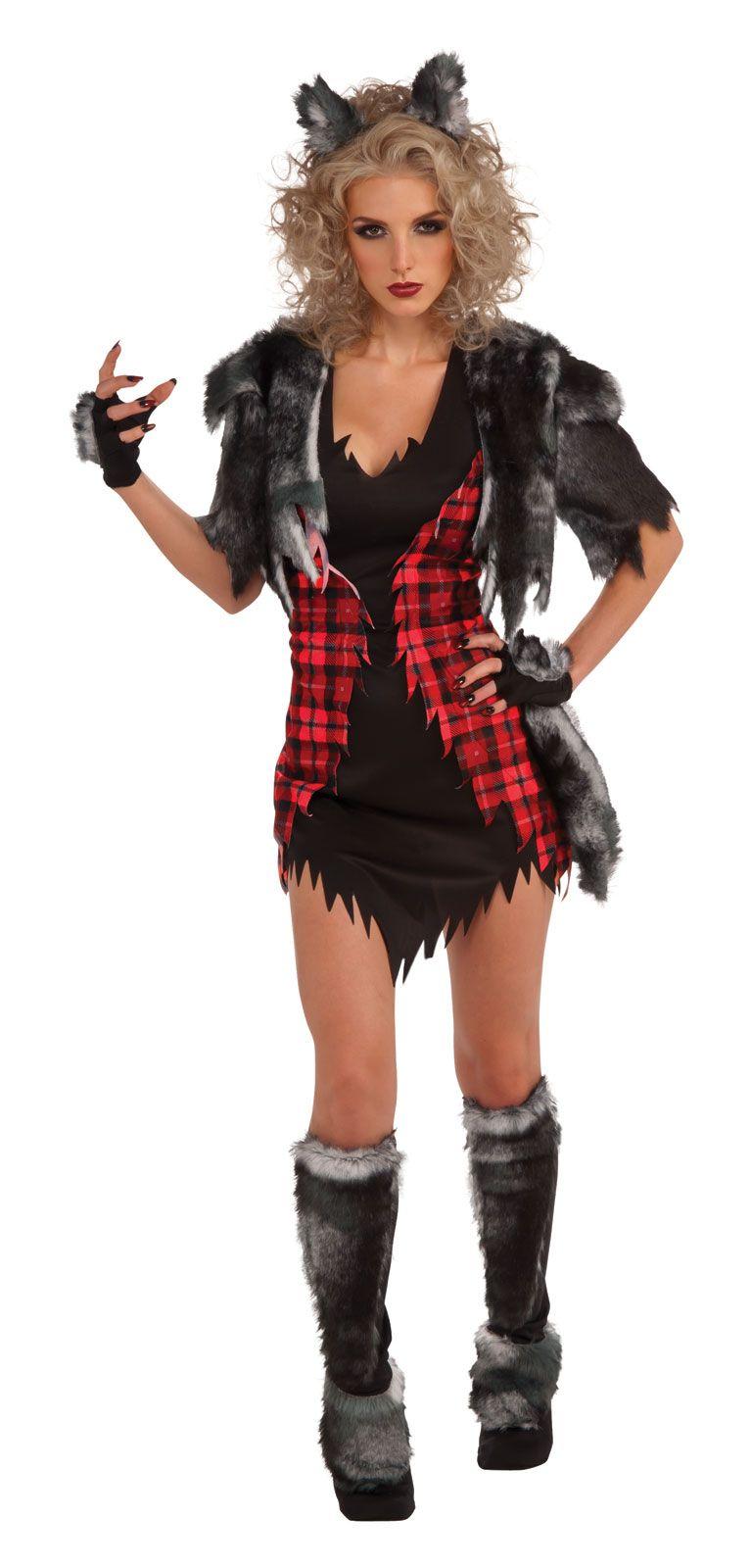 Womens She-Wolf Costume