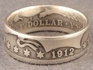 tutorial to turn a coin into a ring