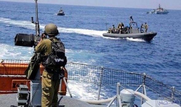 جيش بحرية الاحتلال الصهيوني تعتقل ثلاثة صيادين قبالة بحر غزة