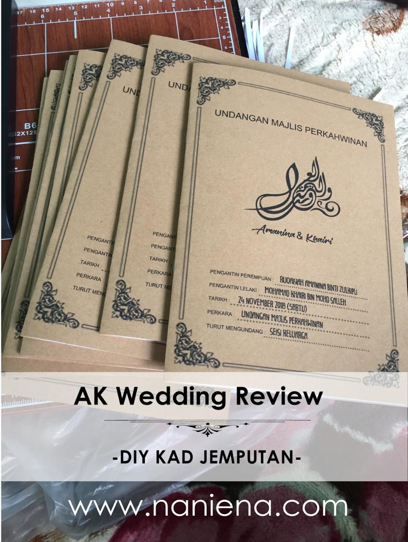 Kad Jemputan Kahwin Kelantan