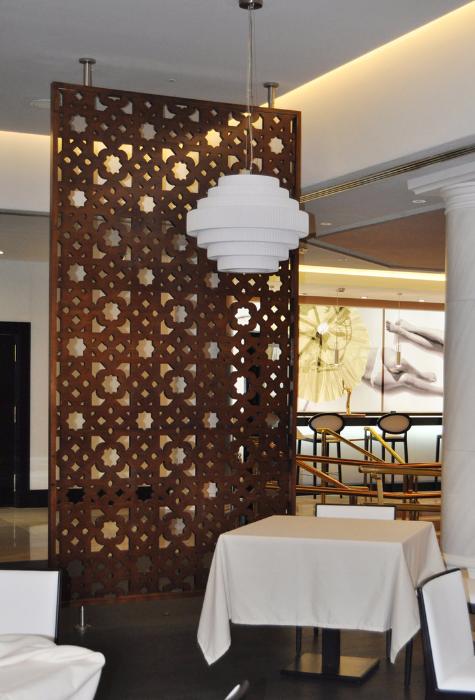 Celosias celosias madera celosias decorativas separadores for Paneles decorativos de pvc