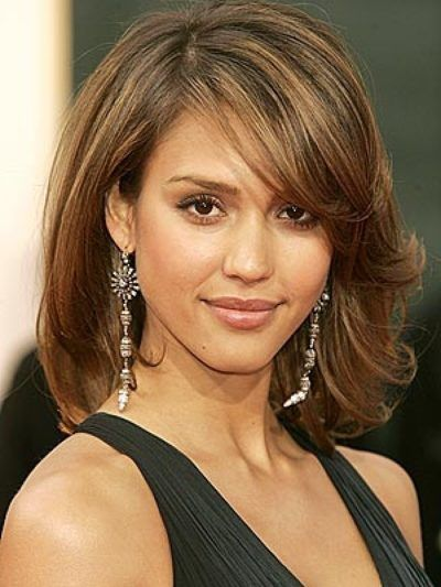 Hairstyle For Big Forehead Medium Hair Styles Hair Lengths