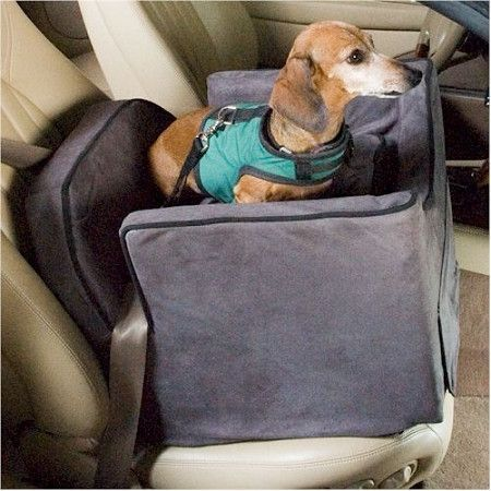 Snoozer Luxury Lookout II Dog Car Seat Small Hot Fudge Cafe