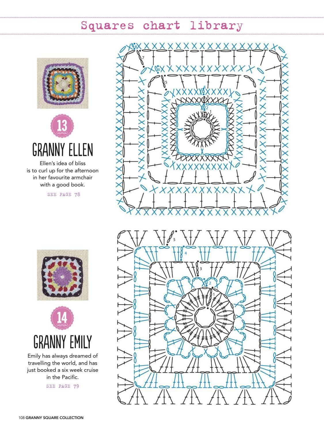 Liên Huỳnh | CROCHET flores y cuadrados | Pinterest | Cuadrados ...