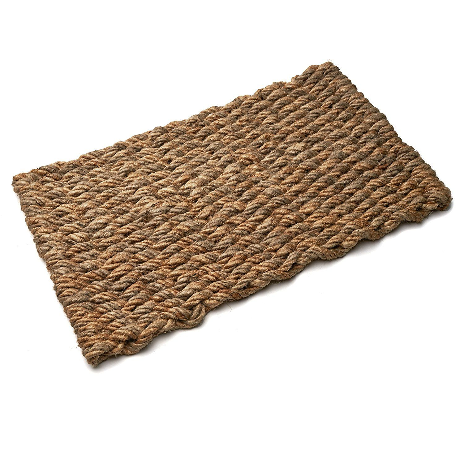 Garrett Wade Natural Jute Door Mat Extra Large Want To Know More Click On The Image Affiliate Link Doormats Natural Jute Door Mat Kings County