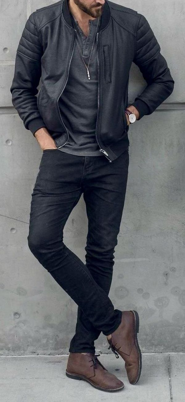 Jaqueta de couro: 20 ideias para usar no look masculino