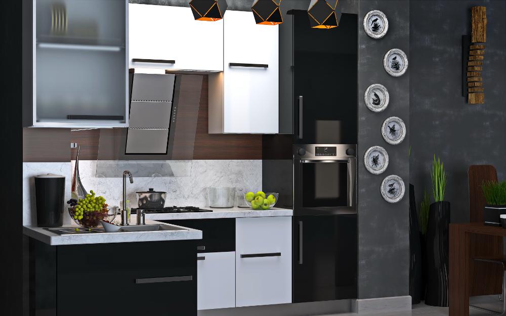 3d model kitchen 132 free download in 2020  kitchen