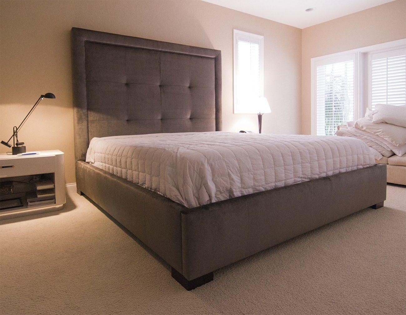 King Size High Plattform Bett (mit Bildern) Kopfteile