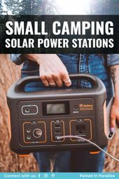 A portable solar power station is perfect for any camping trip Especially when  A portable solar power station is perfect for any camping trip Especially when