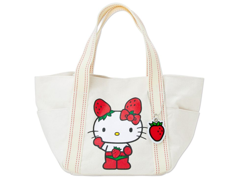 485ccae11f Hello Kitty ICHIGOMAN Mini Tote Bag Handbag SANRIO