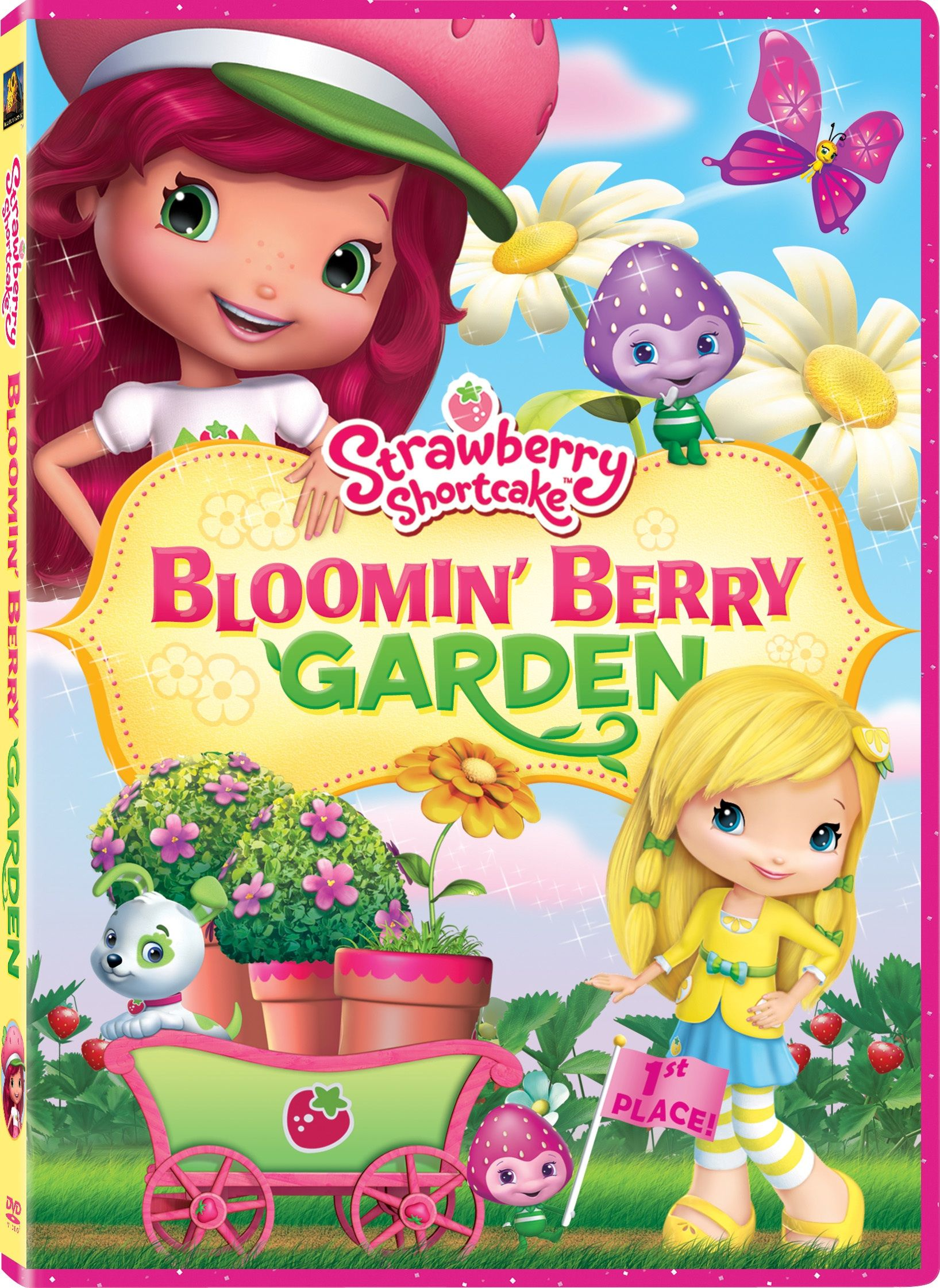 strawberry shortcake Strawberry Shortcake DVD Giveaways