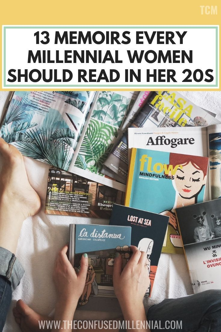 13 memoirs every millennial woman should read in her 20s