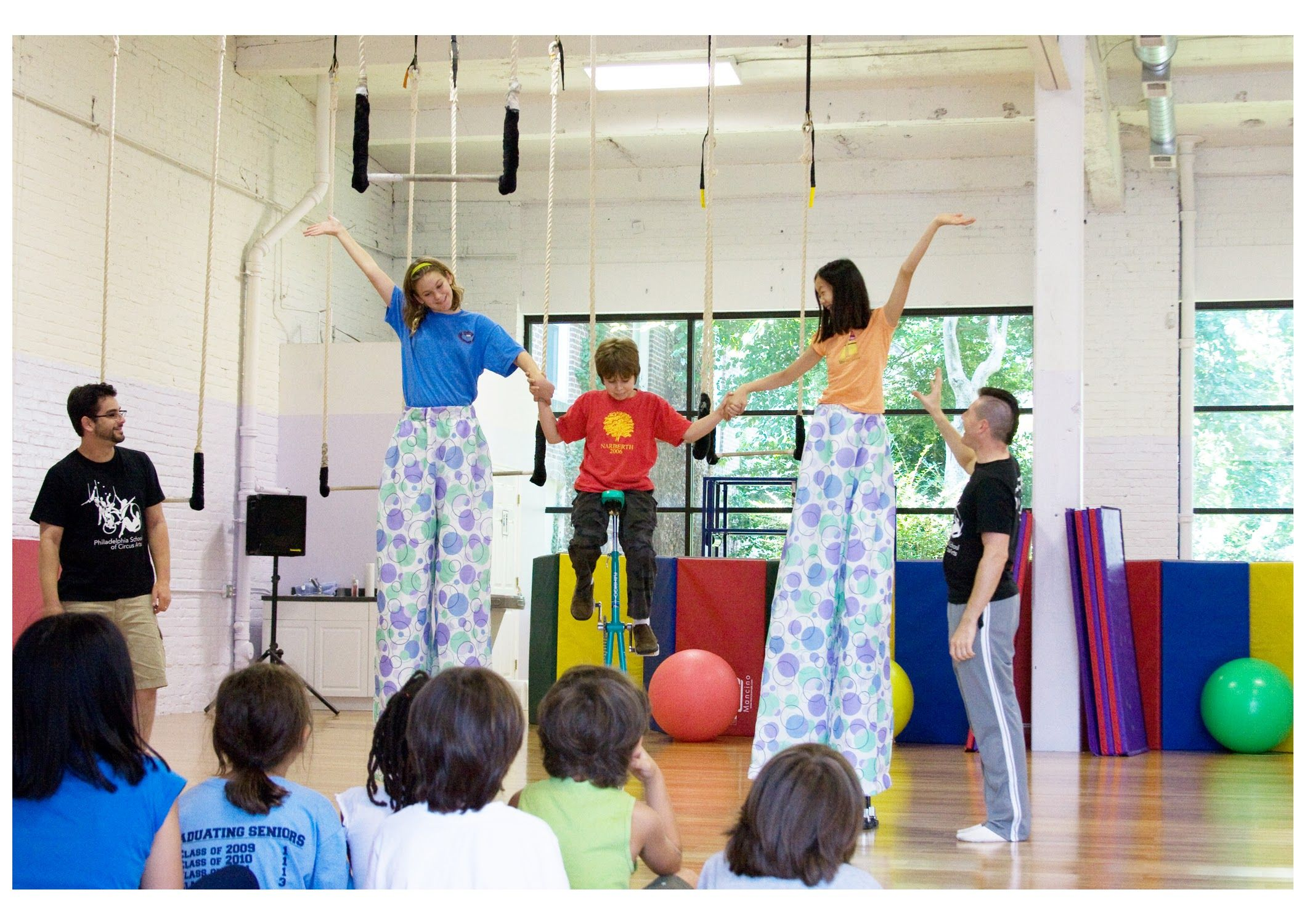 Turn Your Kids Summer Upside Down Circus Summer Camp At