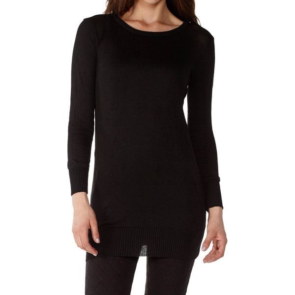 Dinamit Juniors Cotton Ribbed Crew Neck Tunic Sweater ($24 ...
