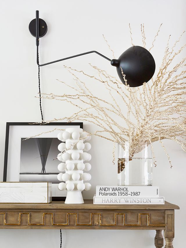 Shop The Look: Vintage Console Table; Nest Interiors Bone Box.