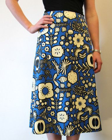 Libby A-Line Skirt Pattern | Online fabric stores, Fabric online and ...
