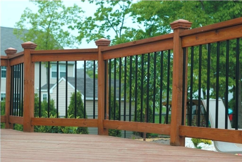 Deck Railing Panels Architecture Deck Railing Wrought Iron