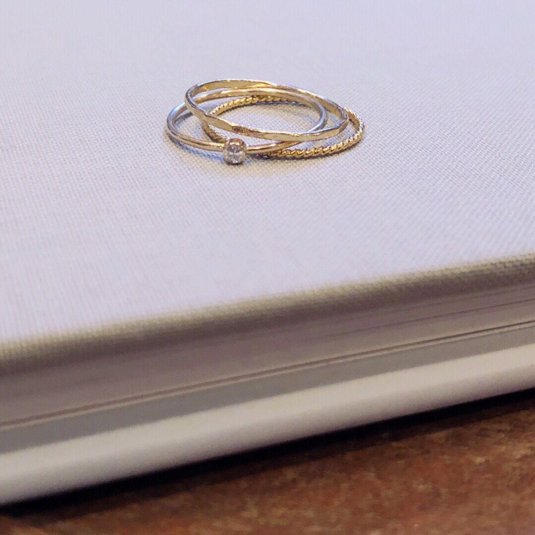 Handmade Minimalist Gold Rings For Stacking Inspo Handmade Rings