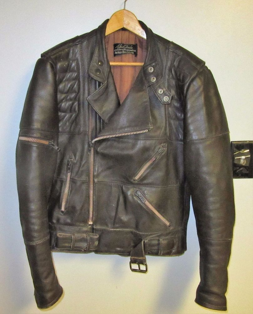 Hein Gericke Harley Davidson Distressed Brown Leather