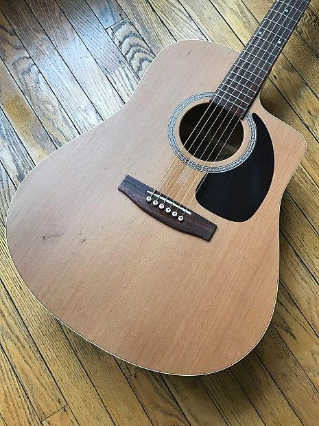 2002 Seagull S6 Cw L R Baggs Acoustic Electric Ohsc Automatic Jack S Axe Shack Reverb Acoustic Electric Baggs Acoustic