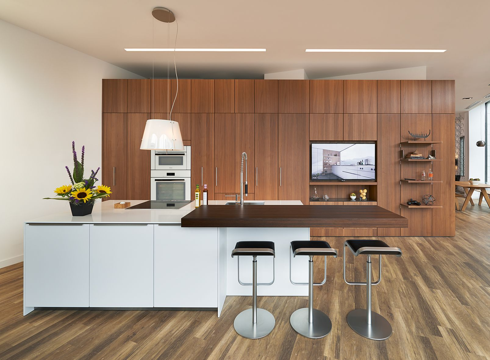 All cabinetry by SieMatic. Want to see more? Visit us at 7550 ...