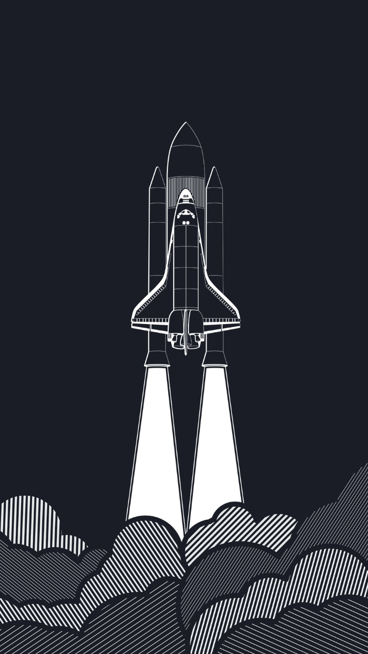 Illustration Font Black And White Animation Graphic Design Monochrome Space Phone Wallpaper Wallpaper Space Nasa Wallpaper