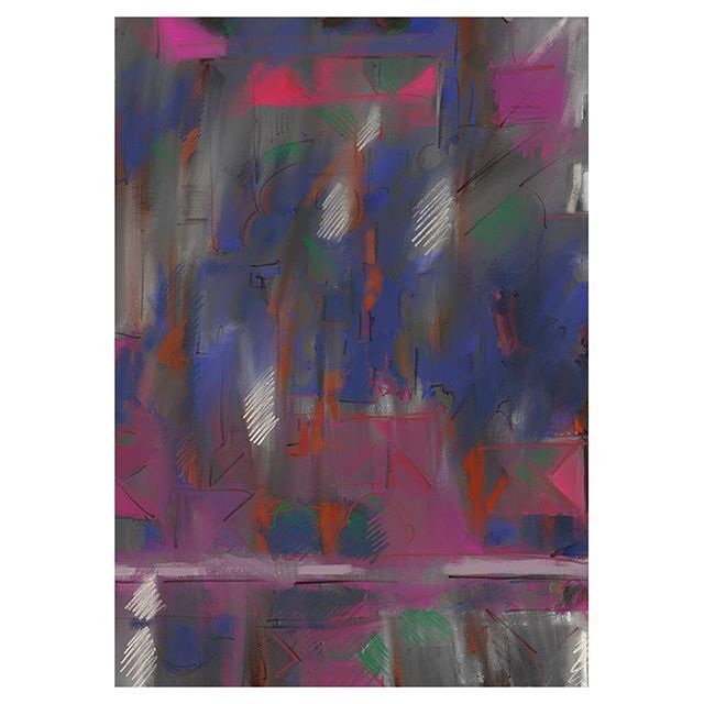 02. ⠀ This series is an experiment with google maps: a kind of abstract geo caching. Overpainting a screenshot of the place where i lived the first eight years of my life. In 3 steps - each one getting more abstract and evolving from street map to color map. ⠀ ⠀ #home #abstractpainting #painting #digitalpaint #procreate #procreateapp #contemporaryart