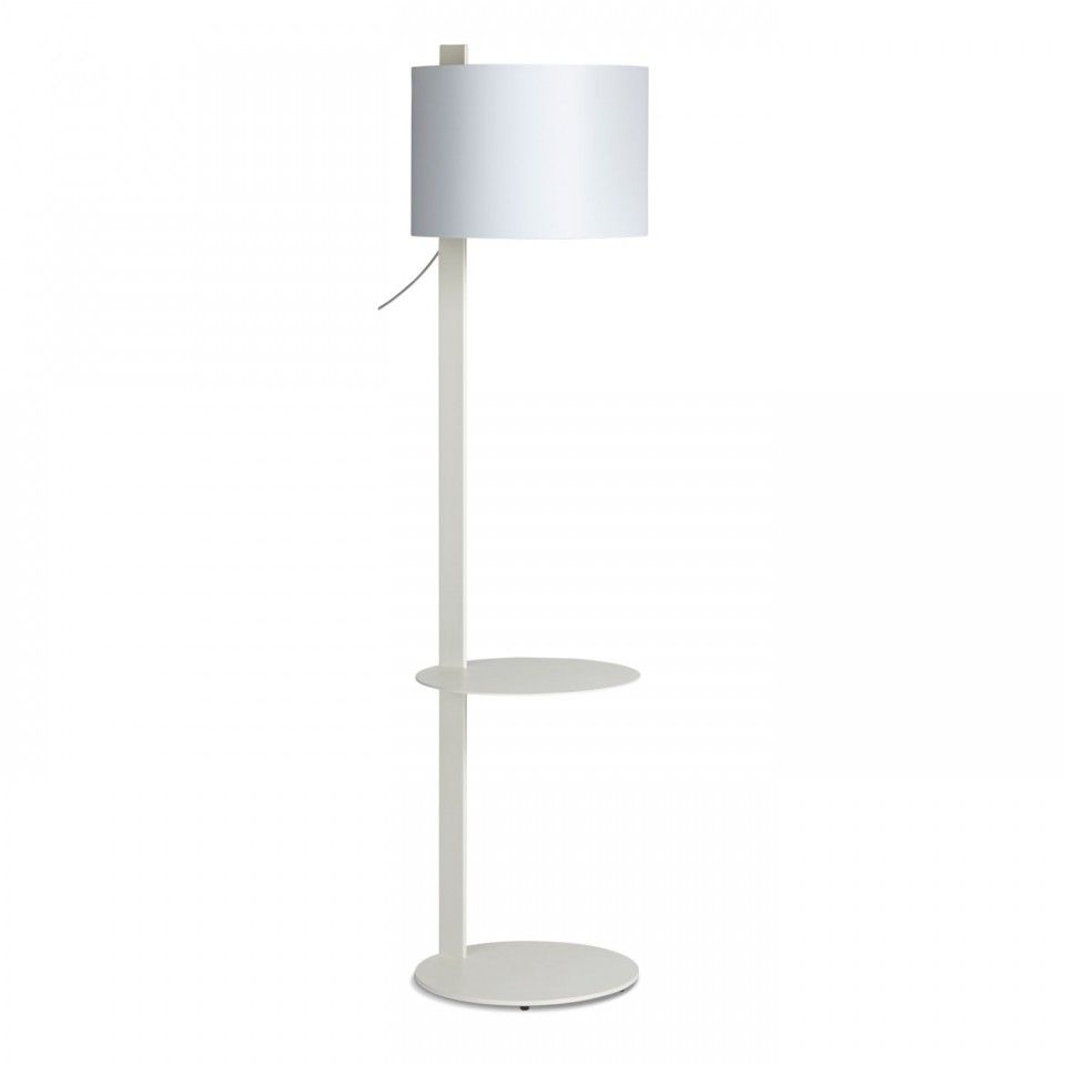 Floor Lamp With Table Attached Pinramon Bauza On New House Ideas  Pinterest  Modern Floor