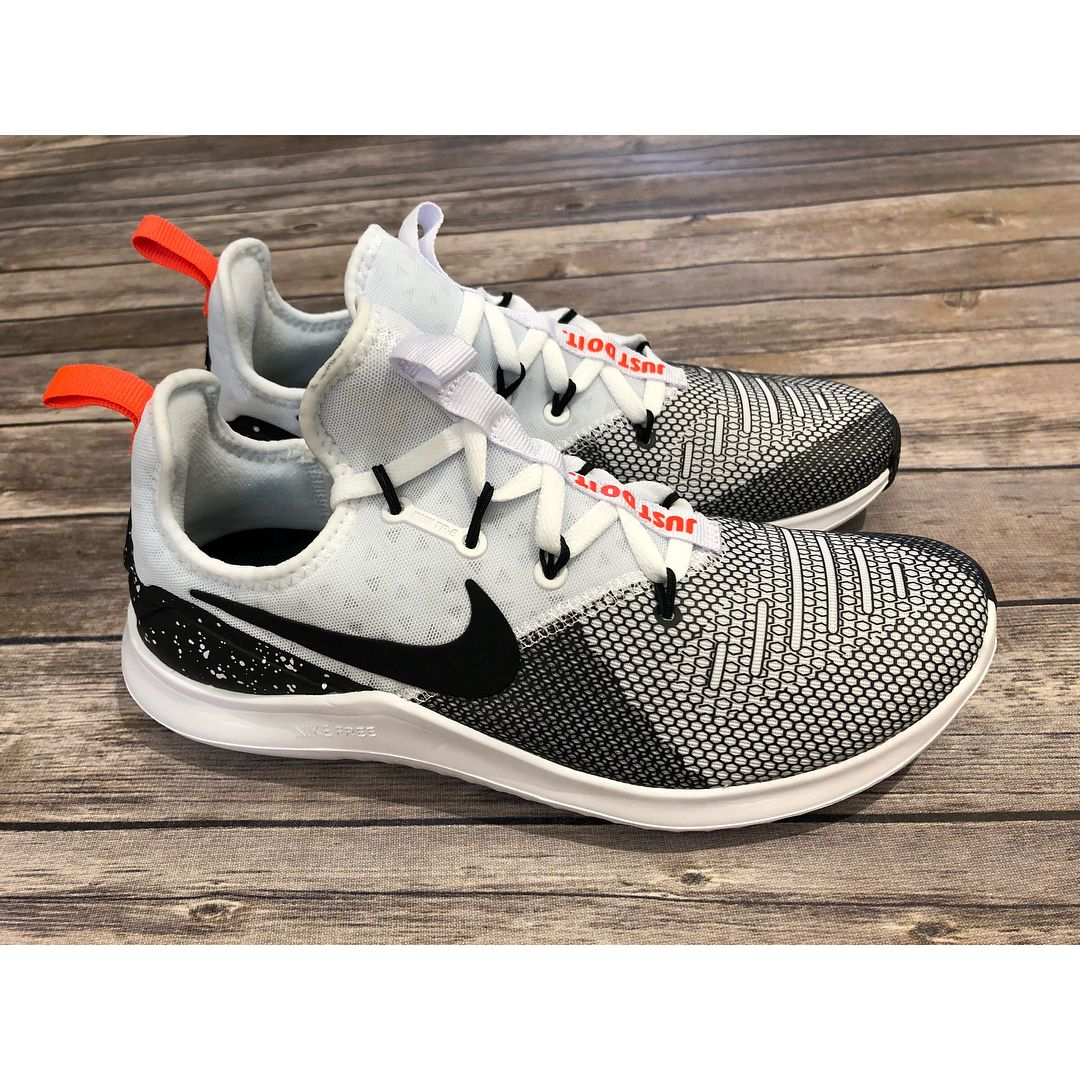 e274f60fb2a00 The Women s Nike Free TR 8 Training shoe features its most supportive heel  yet