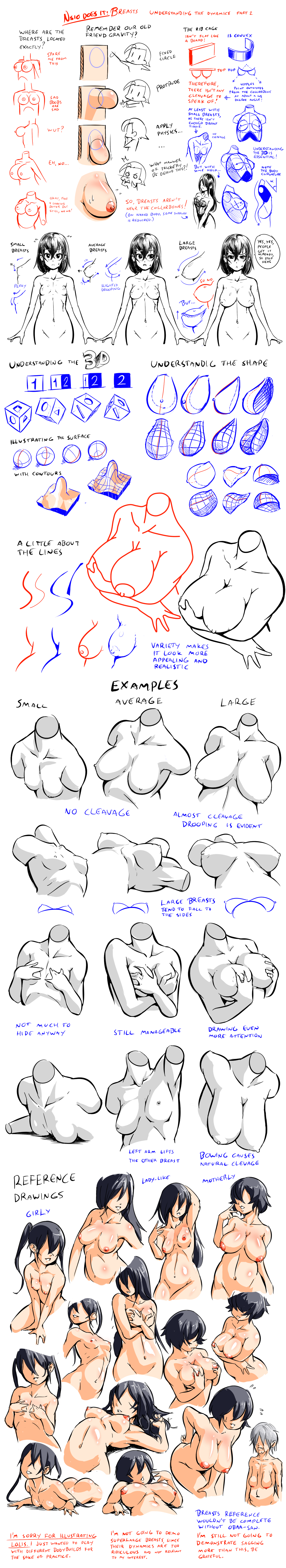 Breasts Understanding The Dynamics How To Draw A Female Naked