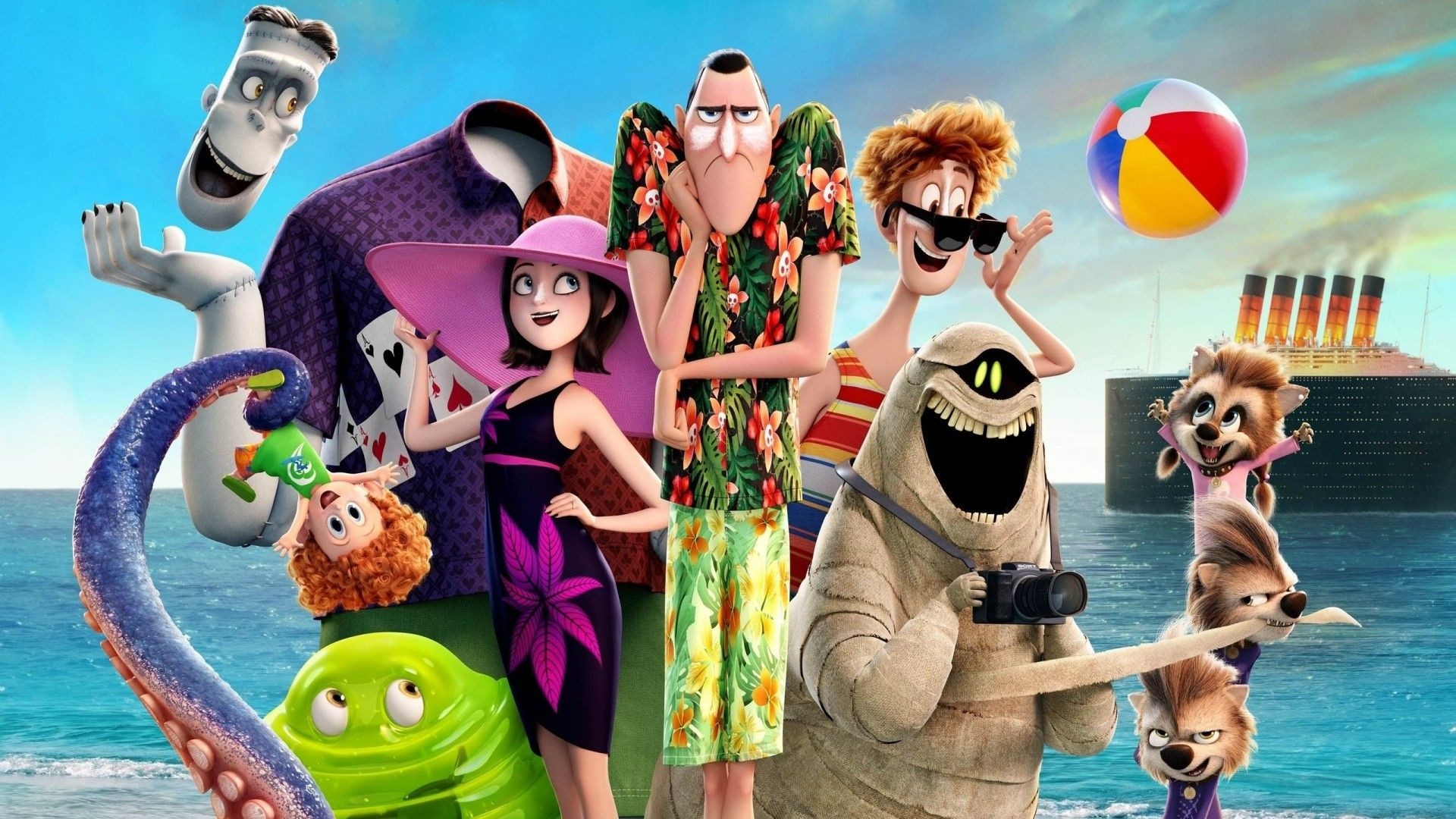 Hotel Transylvania 3 Hd Wallpapers Theme Nazirah Purwanto In 2019