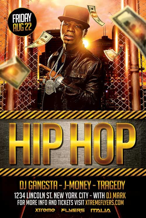 Hip Hop Mjc Etoile  R    Flyer Template Template And