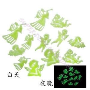 12 Pcs Angel Glow in The Dark Ceiling Fluorescent Home Wall Sticker | eBay