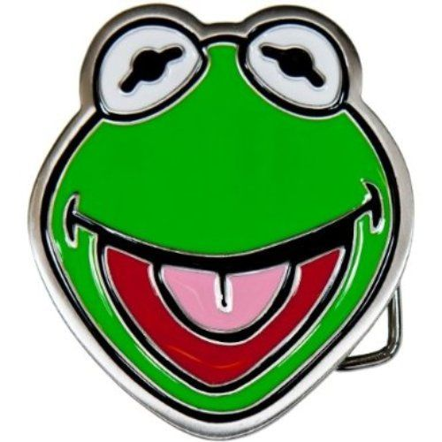 HI HO! Kermit T. Frog Belt Buckle!!