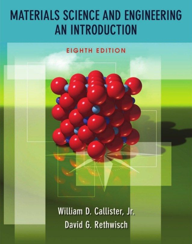 Material Science And Engineering William D Callister Pdf