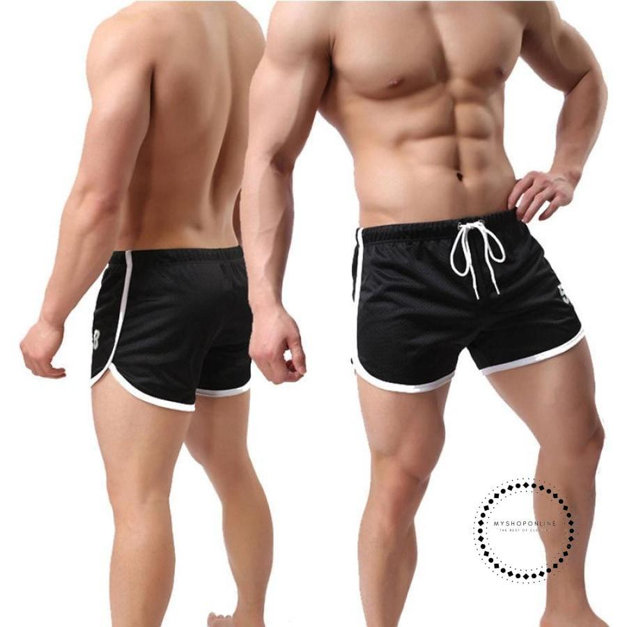 Men/'s Summer Breathable Shorts Gym Sport Running Bodybuilding Casual Short Pants