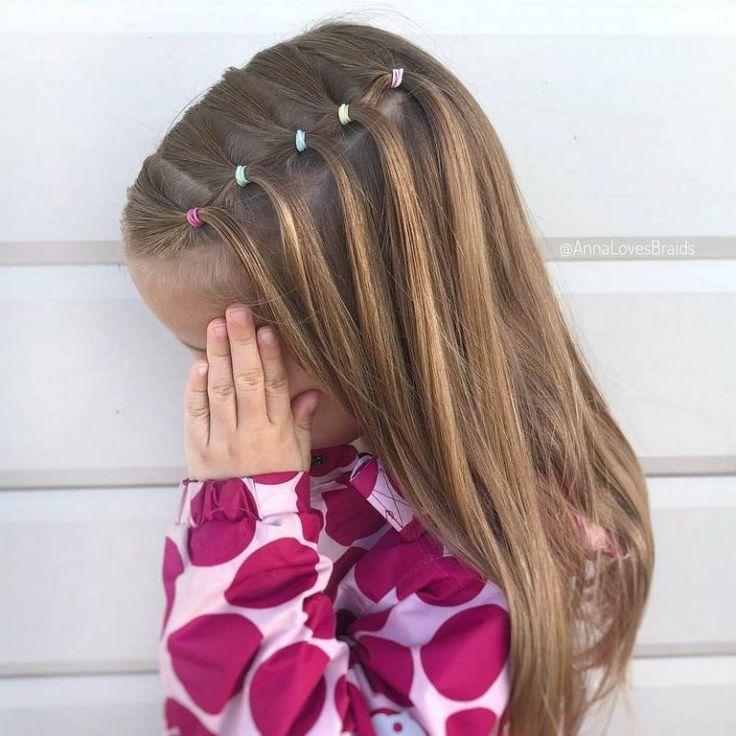 Hübsche Frisuren für Schulmädchen Ideen, Designs und Frisuren für Kinder