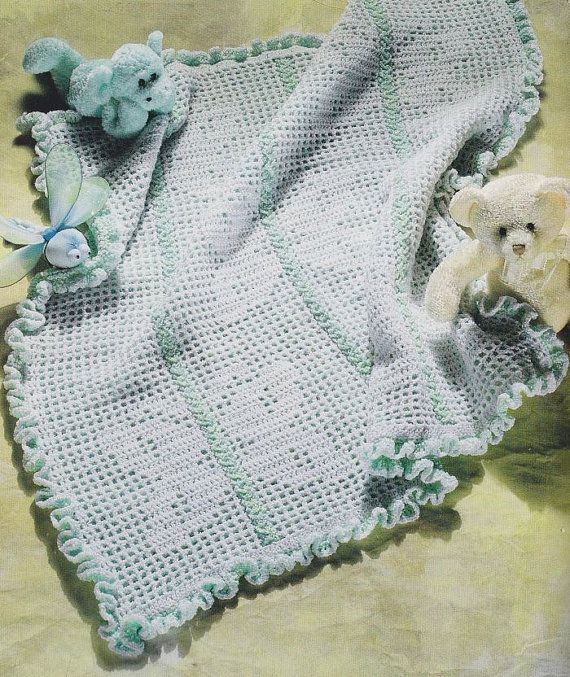 Butterfly Baby Blanket Knitting Pattern : Butterfly Baby Afghan Crochet Pattern crochet & knitting - baby items ...