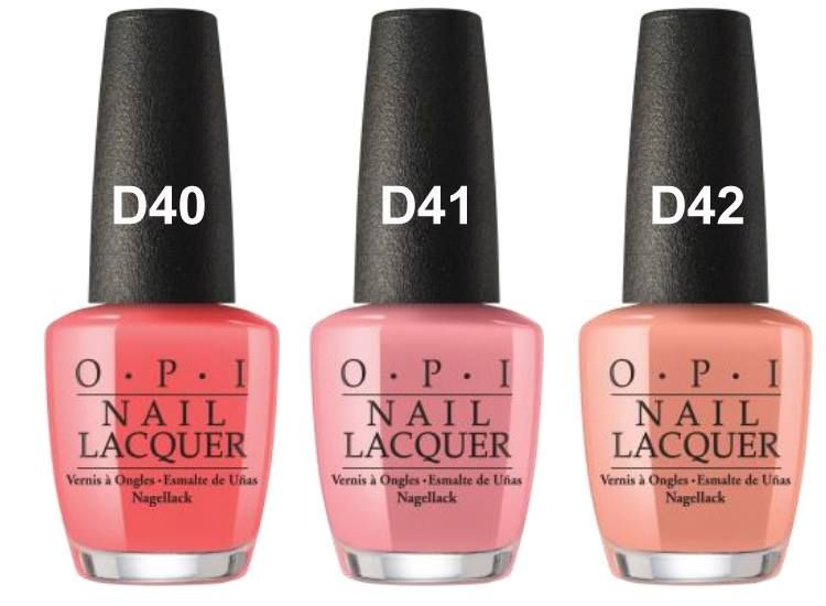 OPI California Dreaming Summer 2017 Collection | OPI, Summer and ...