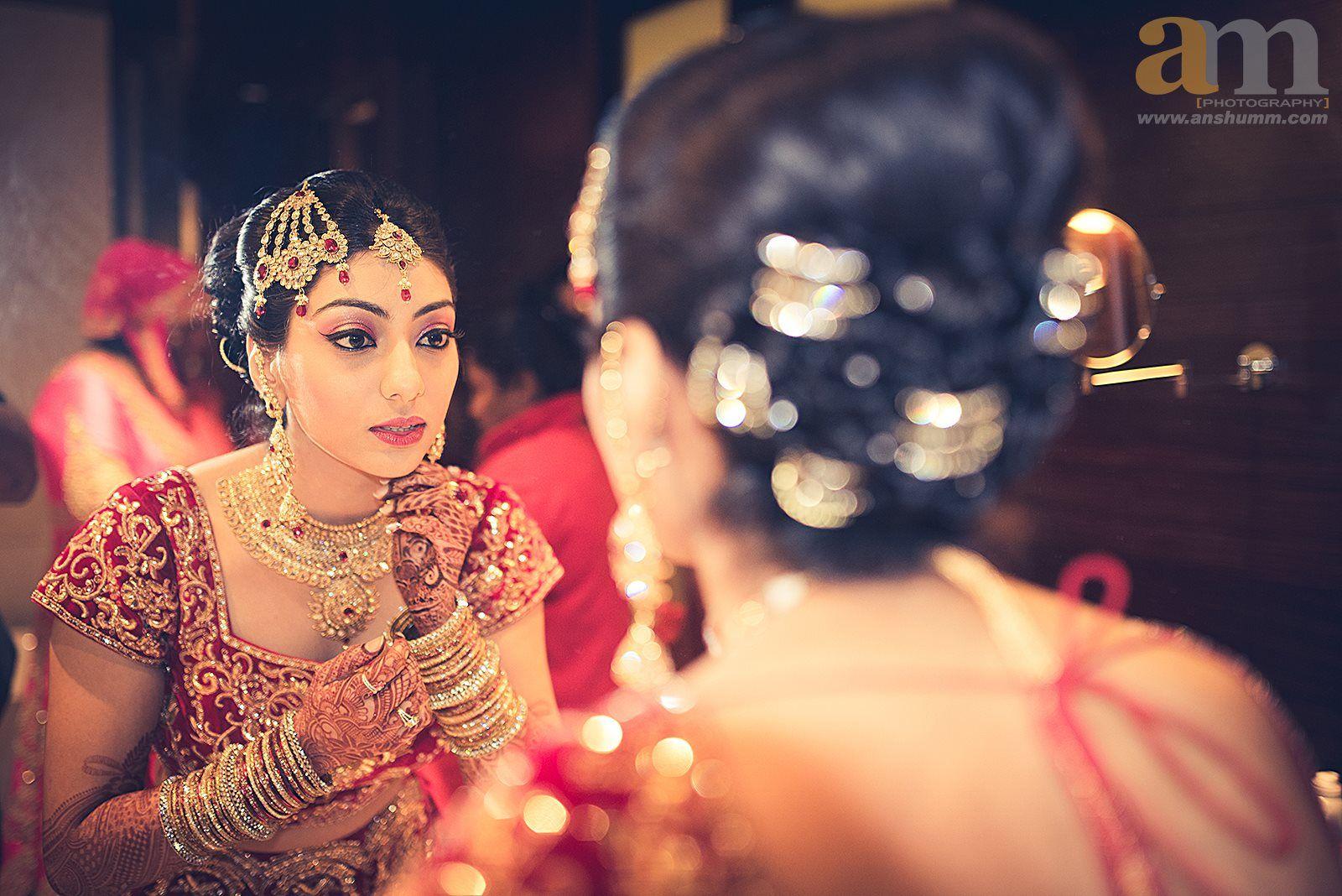 ethnic islamin nikah bridal look details- BollwyoodShaadis