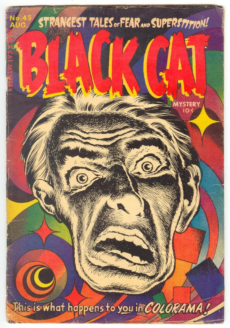 Black cat mystery 45 warren kremer art black cat
