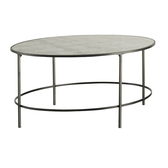 Foxed Mirror Coffee Table Westelm 399 36 X 29 Mirrored