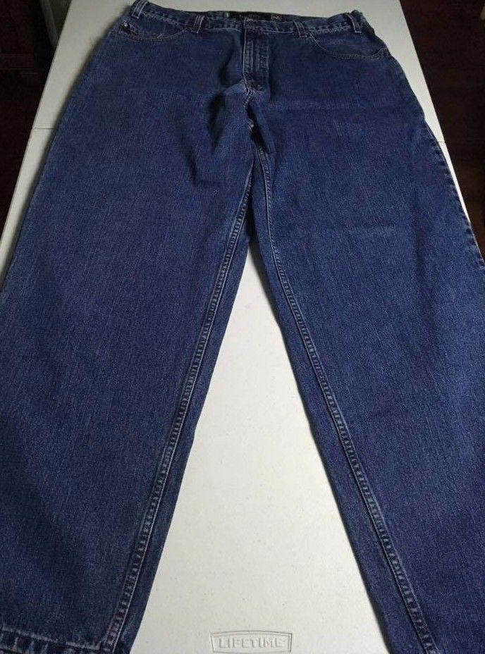 5f98f88ca2d LEVI'S Silvertab VINTAGE Baggy Medium Wash Jeans Men's Size 38 x 34  EXCELLENT #Levis #BaggyLoose