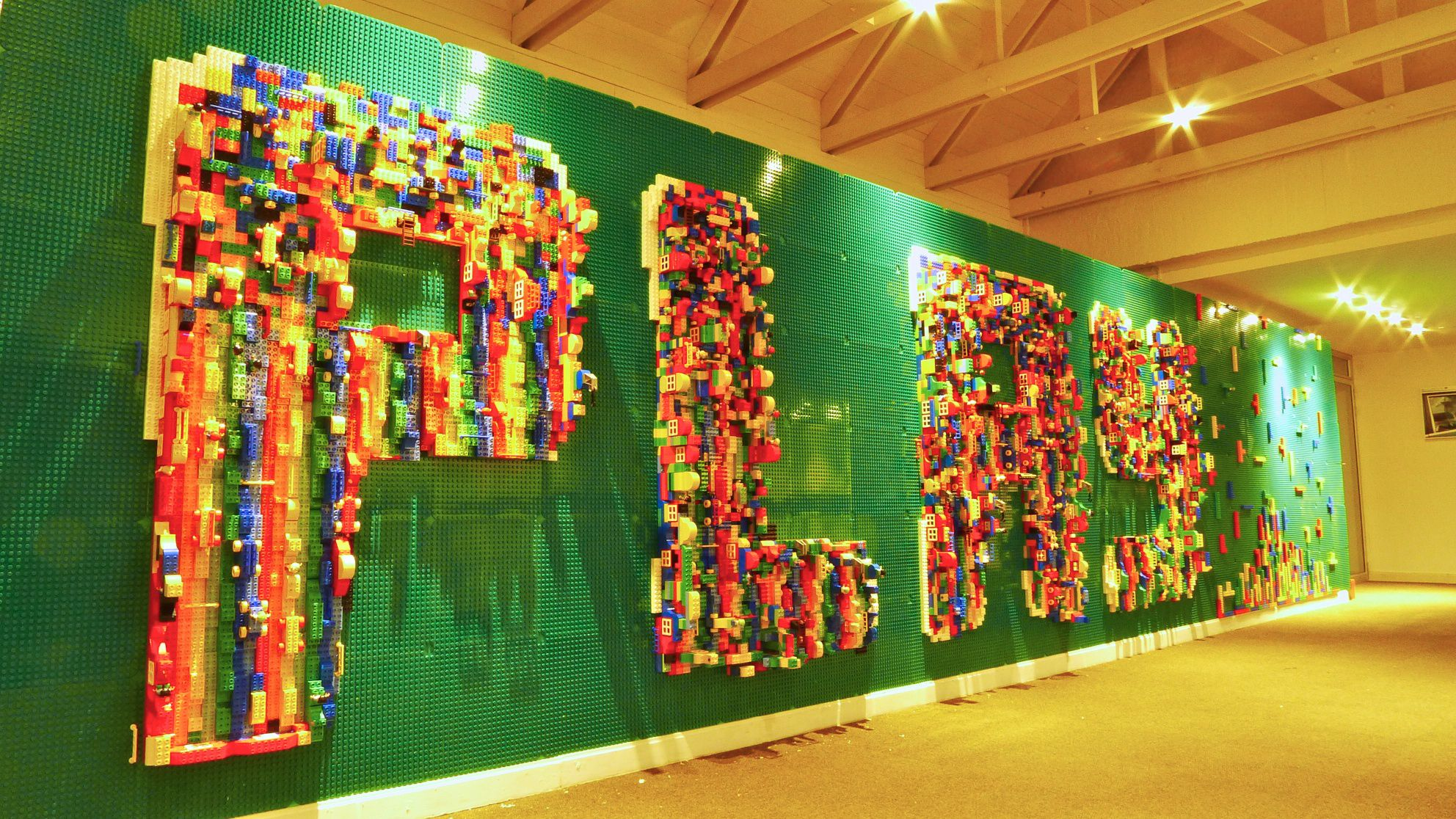 Lego Wall In Office   Google Search