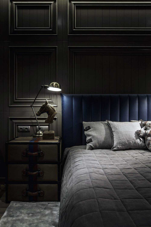 33 Cool Dark Apartment Bedroom Ideas Bedroom decor dark