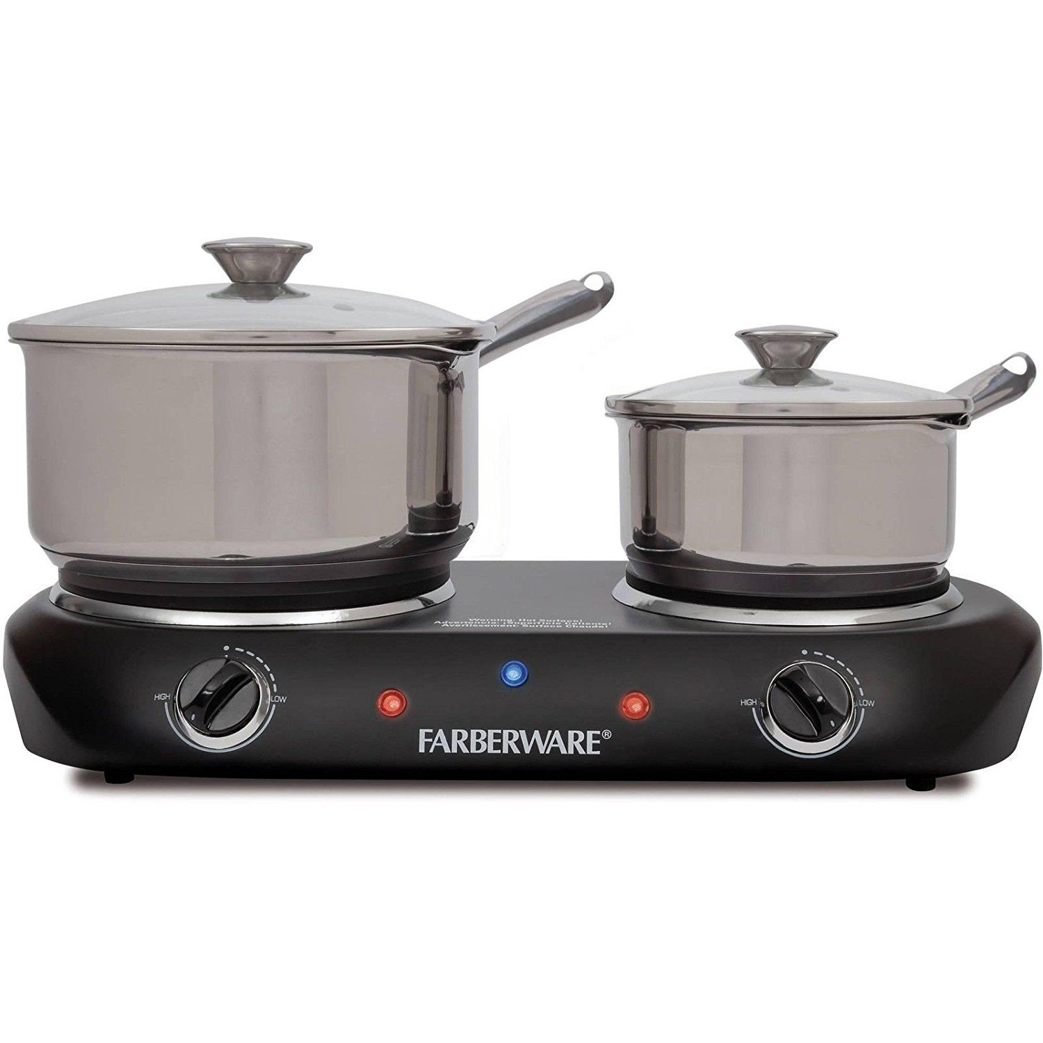 Electric Stove Top High Powered 2 Burners Cooktop Range Oven Hot ...